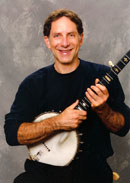 Rick Meyers with banjo